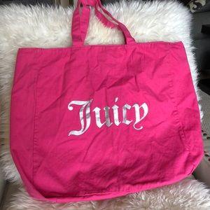 Juice Couture canvas bag